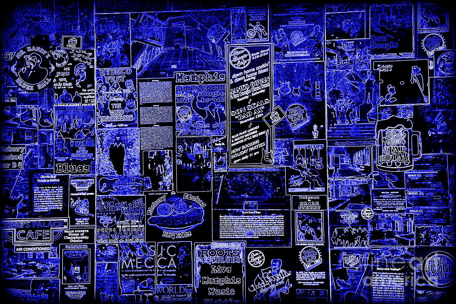 Memphis Blues Photograph - The Blues In Memphis by Carol Groenen