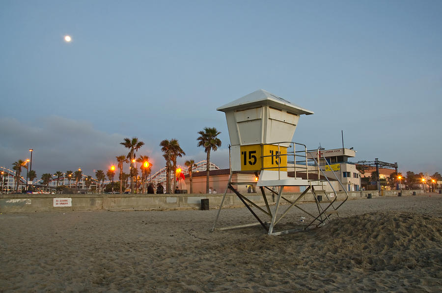 Mission Beach Photograph - The Boardwalk by Margaret Pitcher