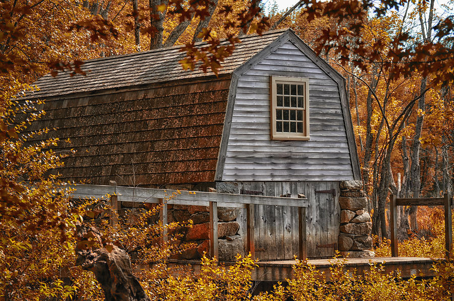 Boat Photograph - The Boathouse At The Manse by Tricia Marchlik