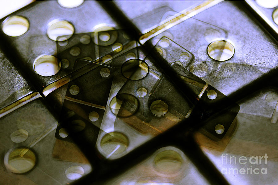 Dominoes Photograph - The Bone Pile by Judi Bagwell