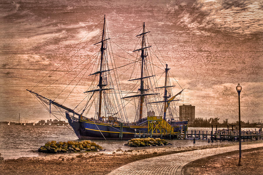 Boats Photograph - The Bounty by Debra and Dave Vanderlaan