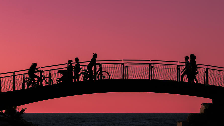 People Photograph - The Bridge by Amr Miqdadi