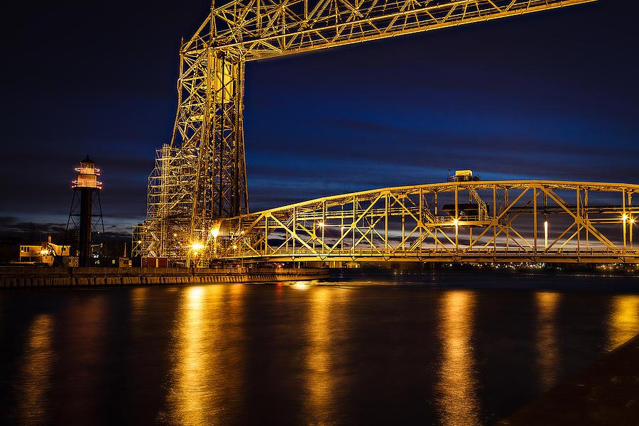 Duluth Photograph - The Bridge by David Wynia