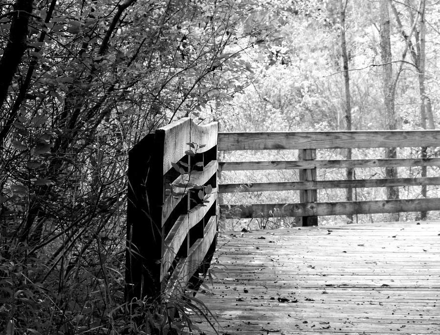 Heritage Park Photograph - The Bridge II by Jennifer L Washington