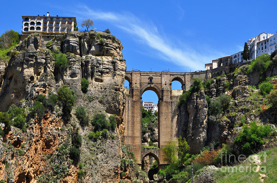 Back to Mary Machare | Art / Photographs / The Bridge In Ronda Spain