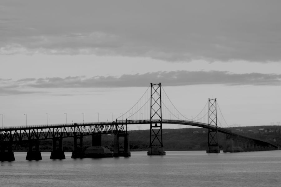Landscape Photograph - The Bridge by Sophie  Bouchard