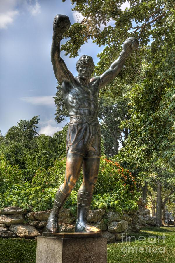 Arena Photograph - The Bronze Stallion II - Rocky Balboa - Philadelphia - Pennsylvania - Rocky Steps by Lee Dos Santos
