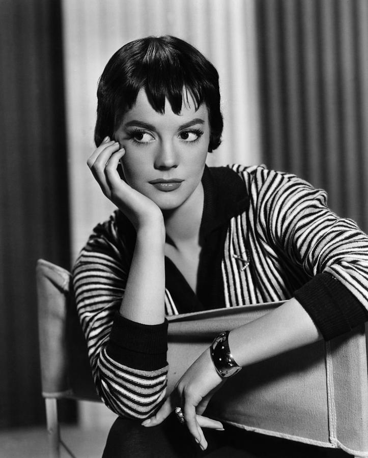 Bangs Photograph - The Burning Hills, Natalie Wood, 1956 by Everett