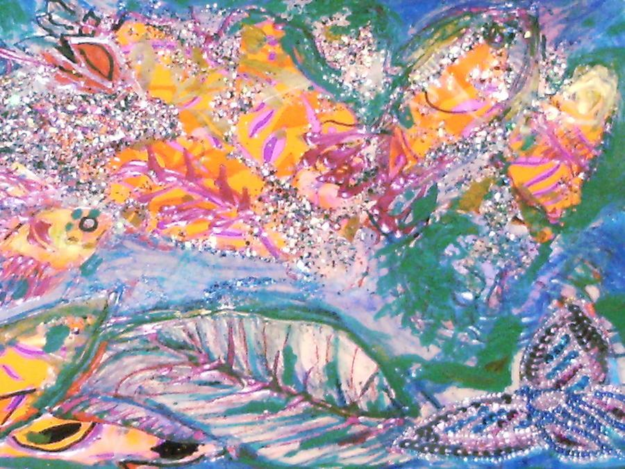 Dream Mixed Media - The Butterflys Dream by Anne-Elizabeth Whiteway