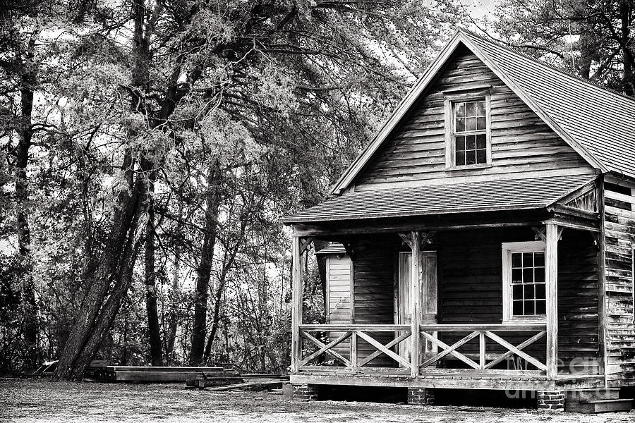 The Cabin Photograph - The Cabin by John Rizzuto