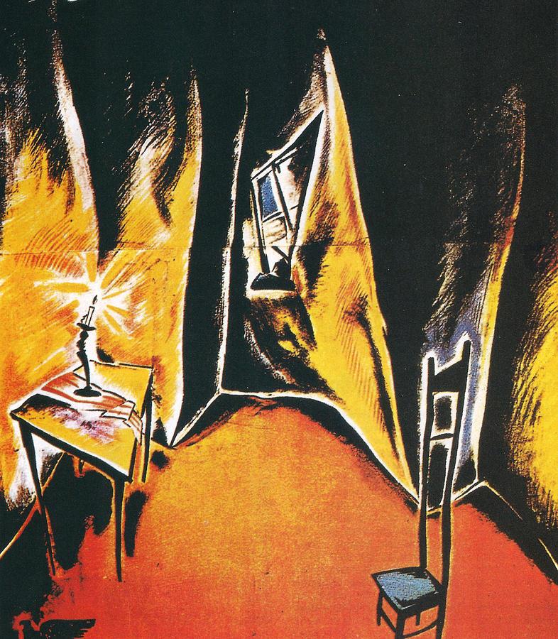 Dr Caligari Digital Art - The Cabinet Of Dr Caligari by Georgia Fowler