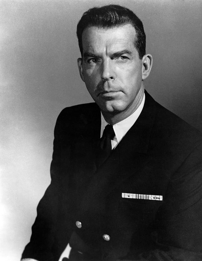 1950s Portraits Photograph - The Caine Mutiny, Fred Macmurray, 1954 by Everett