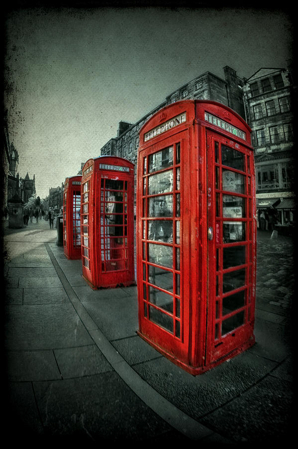 Phone Photograph - The Call Of Yesteryear by Evelina Kremsdorf