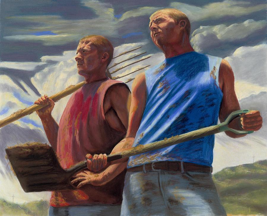 Farm Pastel - The Calling by Christian Vandehaar