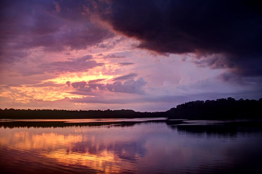 the calm after the storm photograph by john loreaux