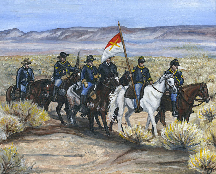 The Cavalry Painting By Holly Lenz