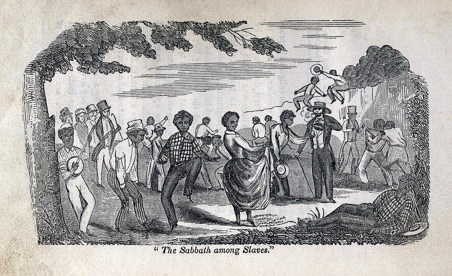 1840s Photograph - The Celebration Of The Sabbath Among by Everett