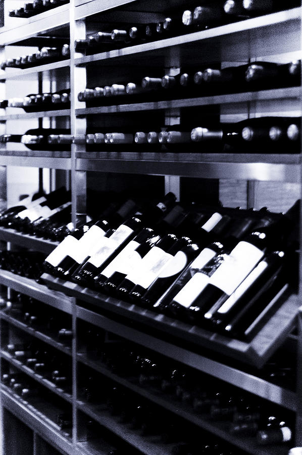 Wine Photograph - The Cellar by Marina Garrison