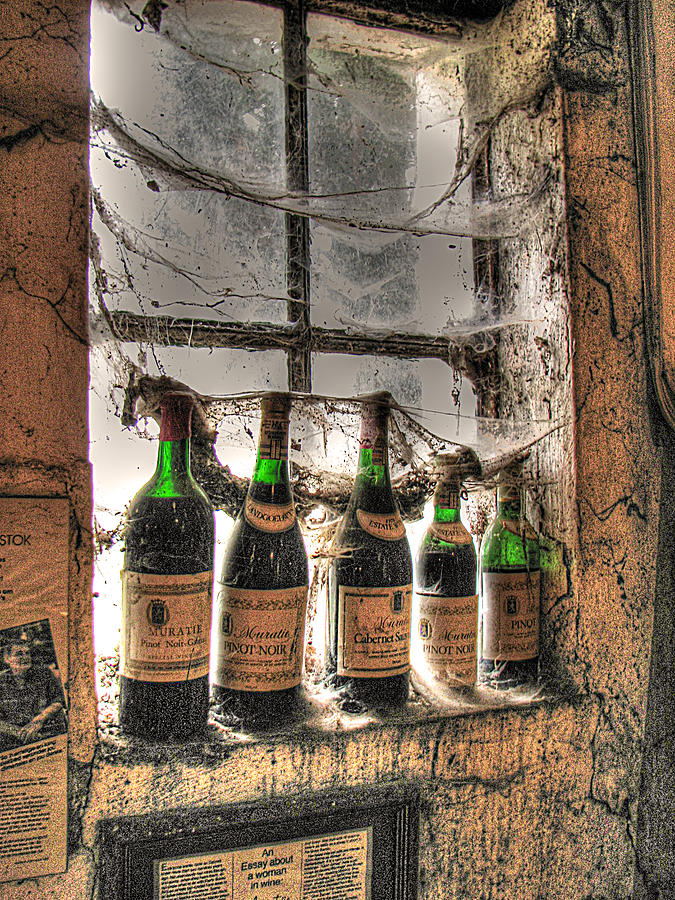 Winery Photograph - The Cellar Window by William Fields