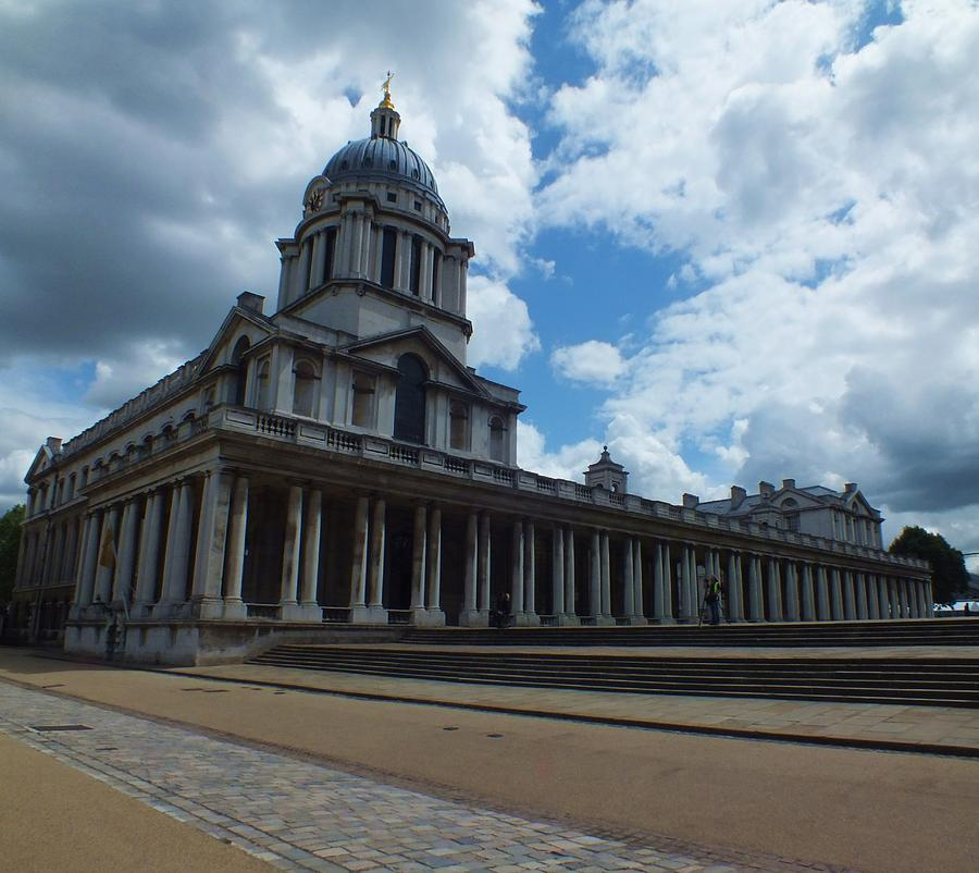 Greenwich Photograph - The Chapel At The Royal Naval College by Anna Villarreal Garbis