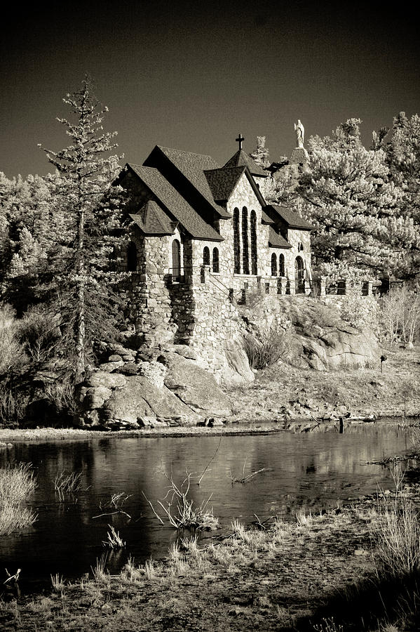 Colorado Photograph - The Chapel of St. Malo by G Wigler