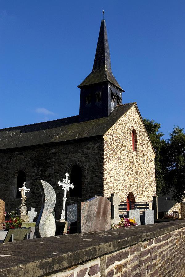 Sainte Onenne  Photograph - The Church Of Sainte-onenne by Fabrizio Troiani