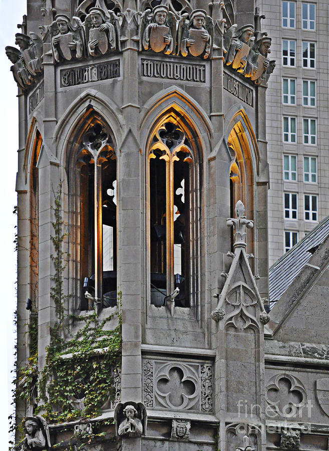 Bell Tower Photograph - The Church Tower by Mary Machare