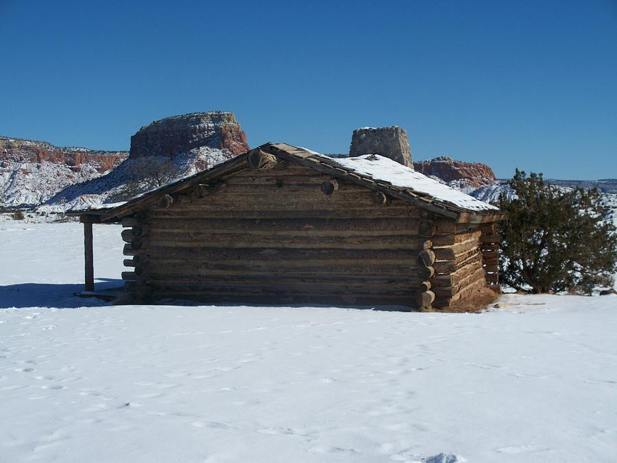 Cabins Photograph - The City Slickers Cabin by FeVa  Fotos