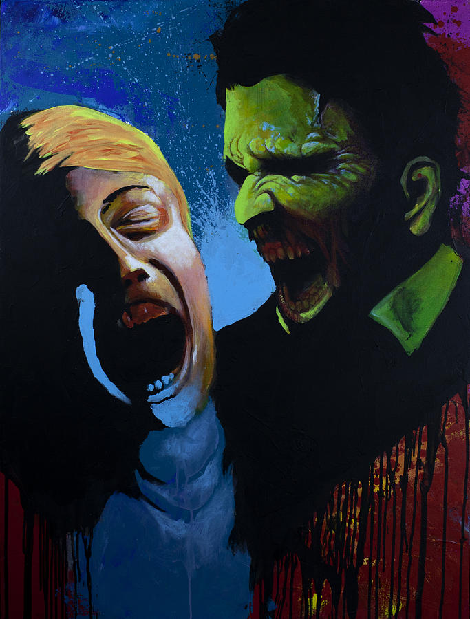 Zombie Painting - The Clash by Jake Perez