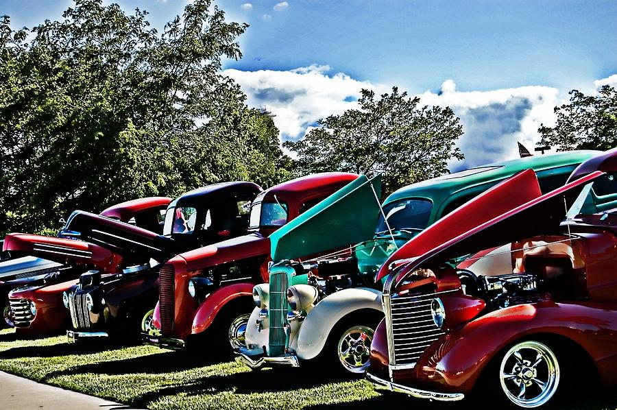 Classic Car Photograph - The Classics by Cheryl Cencich