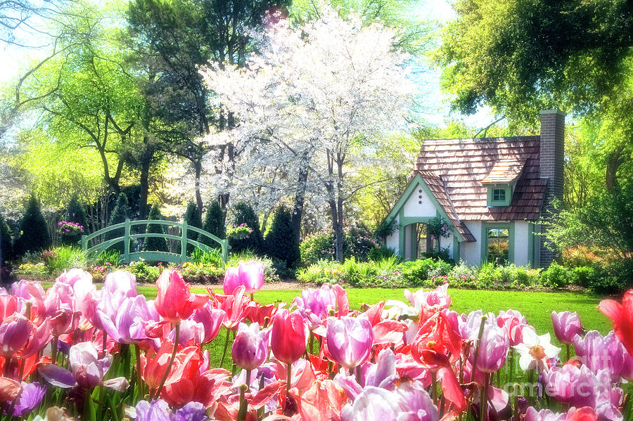 Claude Monet Photograph - The Claude Monet Small House by Tamyra Ayles