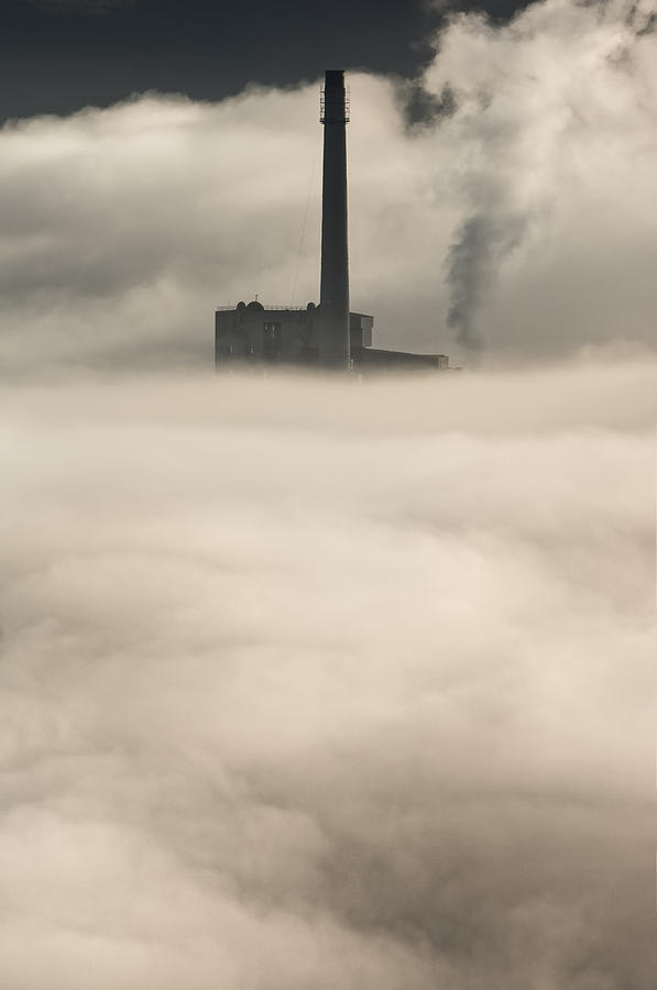Peak District Photograph - The Cloud Factory by Andy Astbury