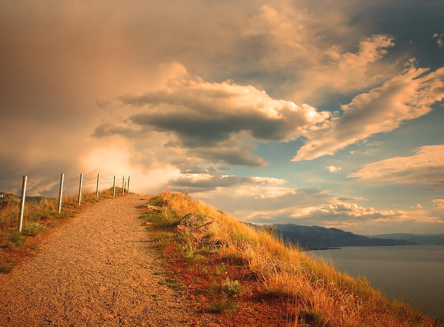 Clouds Photograph - The Cloud Path by Tara Turner
