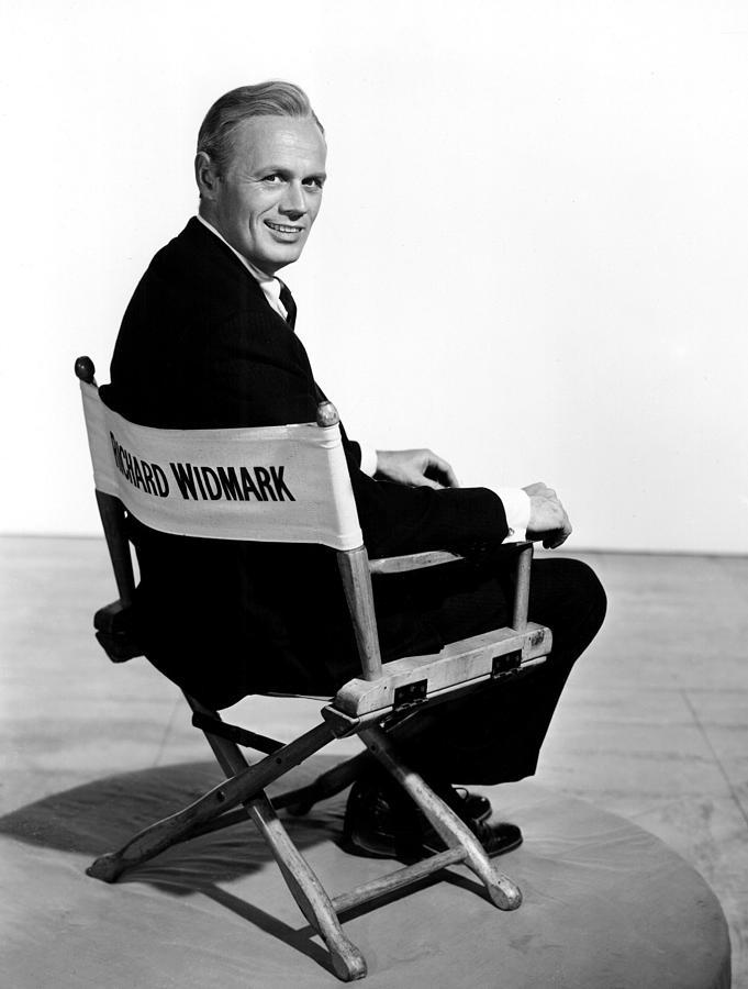 1955 Movies Photograph - The Cobweb, Richard Widmark, 1955 by Everett