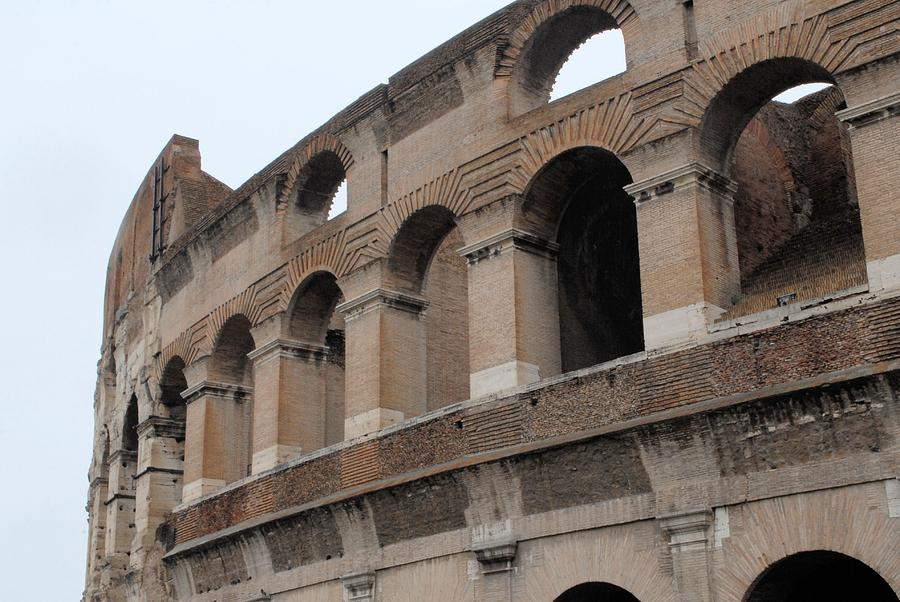 Rome Photograph - The Coliseum by