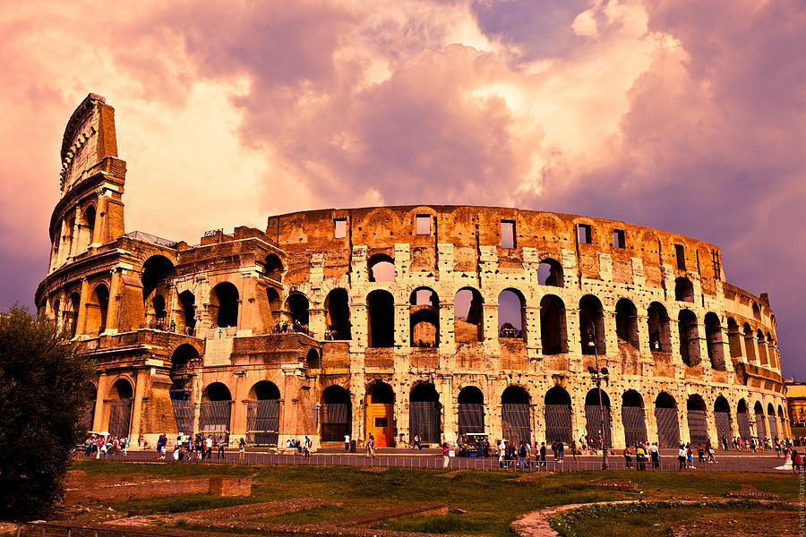 the colloseum photograph by andrey starostin