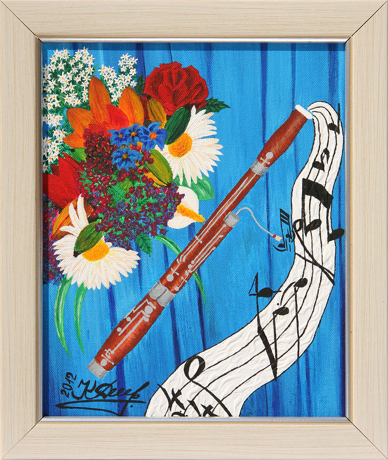Painting Painting - The Color Of Music by Krasimir Delev