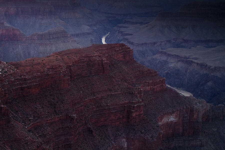 National Park Photograph - The Colorado River At Hopi Point by Andrew Soundarajan