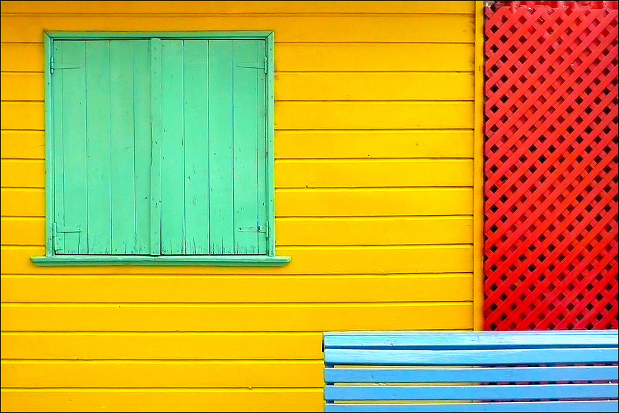 Horizontal Photograph - The Colours Of Caminito by by Felicitas Molina