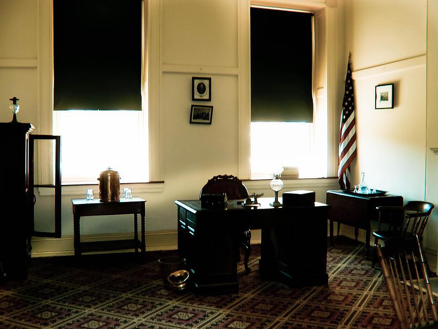 Desk Photograph - The Confederate Diary by Trish Tritz