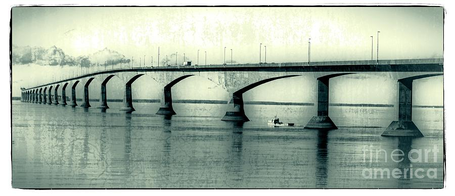 Prince Photograph - The Confederation Bridge Pei by Edward Fielding