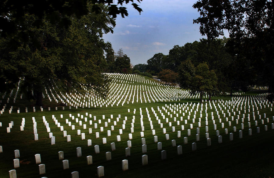 Arlington National Cemetery Photograph - The Cost by Greg and Chrystal Mimbs