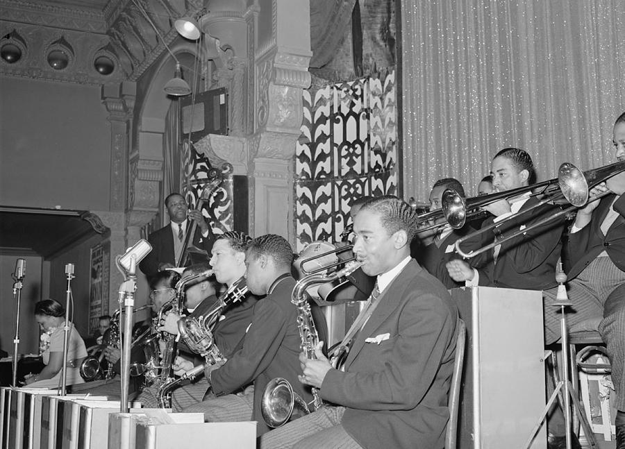 History Photograph - The Count Basie Orchestra At The Savoy by Everett