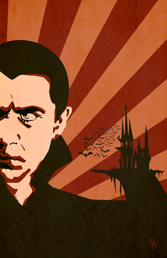 Monsters Movies Dracula Bram Stoker Digital Art - The Count by Dave Drake