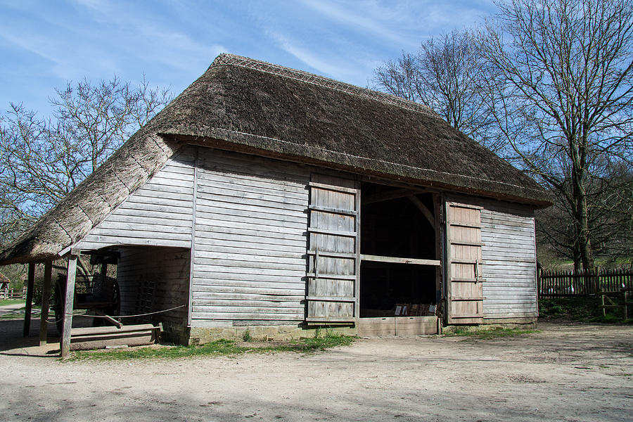 Barn Photograph - The Cowfold Barn by Dawn OConnor