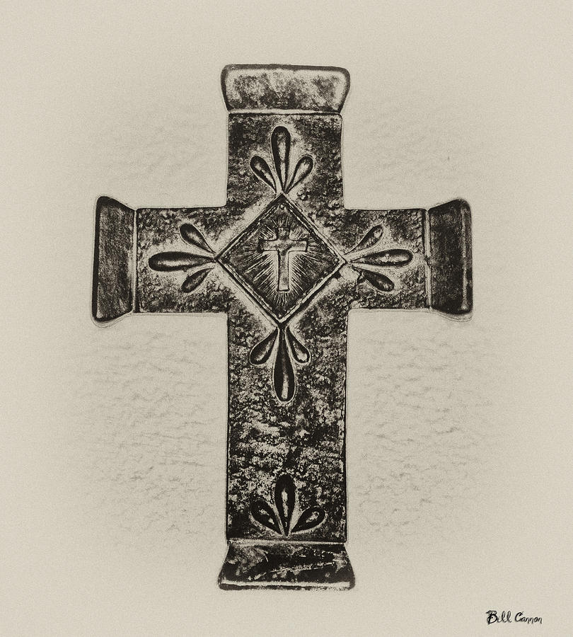 Cross Photograph - The Cross by Bill Cannon