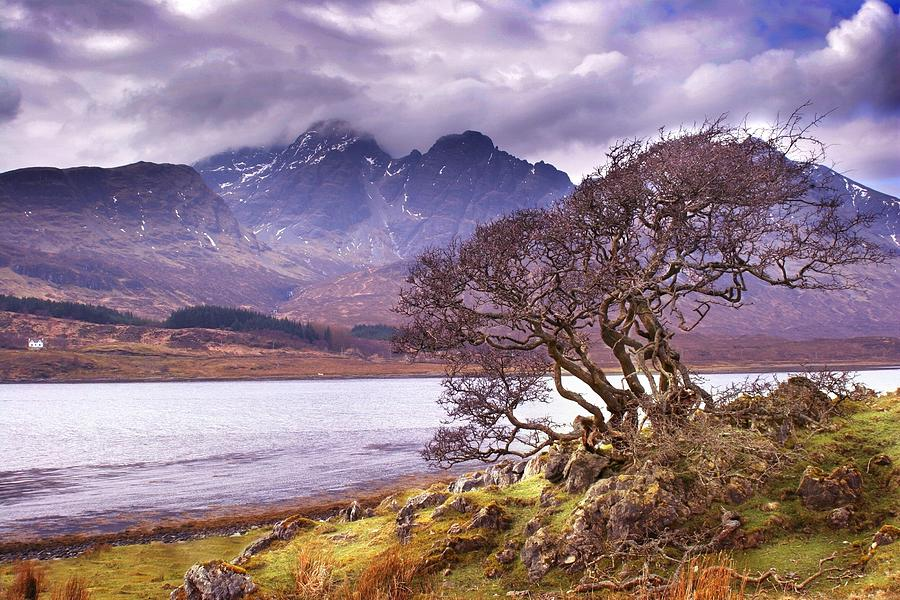 The Cuillins Skye by Joe Macrae