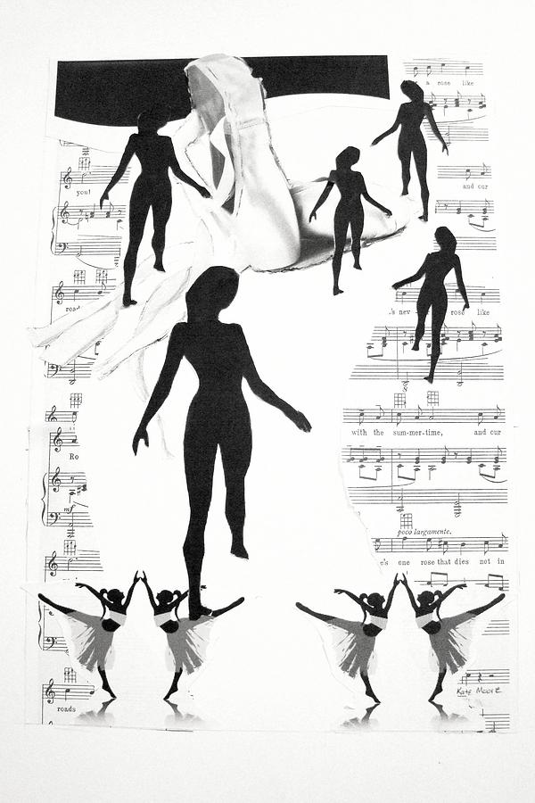 Dancers Mixed Media - The Dance by Kate Moore