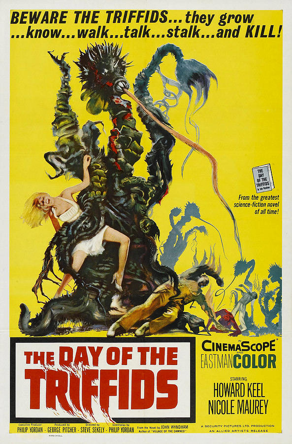 1963 Movies Photograph - The Day Of The Triffids, 1963 by Everett