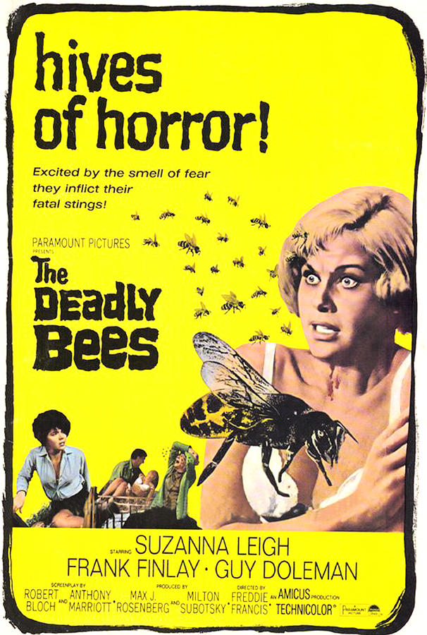 1967 Movies Photograph - The Deadly Bees, From Left Katy Wild by Everett